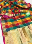 Banarasi Golden Zari Weaving Saree