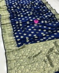 Banarasi Soft Silk Handloom Weaving Silk Saree