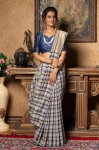 Pure Linen With Beautiful Designs Saree
