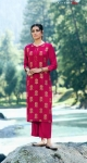 Vinay Fashion Tumbaa Lightning Vol 3 Kurti Plazzo Catalog (6 Pcs Set)