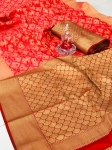 Banarasi Handloom Weaving Patola Silk Saree