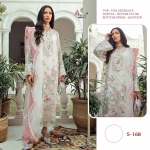 Shree Fabs S-168 Butterfly Net Pakistani Suit