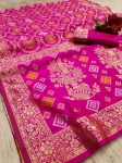 Pure Bandhani Silk Exclusive Saree Collection