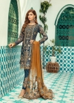 Shenyl Fab Vol 1 Butterfly Net Pakistani Suit (6 Pcs Set)