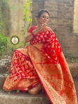 Banarasi Silk Full Zari Weaving Saree Collection