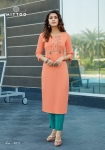 Mittoo Mohini Vol 5 Kurti With Pent Collection (6 Pcs Set)