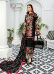 Shree Fabs Adan Libaas Schiffli Collection Pakistani Suit (5 Pcs Set)