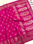 Banarasi Handloom Soft Silk Weaving Saree