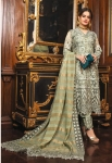 Shenyl Fab Alzohaib Fox Georgette Wedding Pakistani Suit (6 Pcs Set)