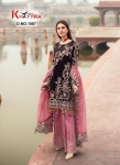 Khayyira Suit D.no 1087 Georgette Pakistani Suit