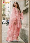 Fepic Rosemeen C 1029 Heavy Georgette Pakistani Suit (4 Pcs Set)