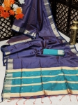 Pure Banglori Silk Weaving Saree Collection (8 Pcs Set)
