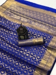 Rich Banarasi Silk Pure Zari Weaving Saree