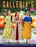 Diya Trendz Gallerias Vol 2 Heavy Rayon Kurti (14 Pc Set)