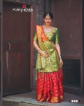 Banarasi Weaving Patola With Heavy Rich Zari Pallu Saree