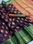 Banarasi Handloom Weaving Silk Saree (5 Pc Set)