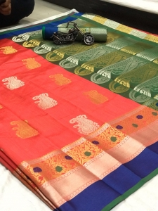 Crystal Sona Chandi Sattin Patta Saree Collection (8 Pcs Set)