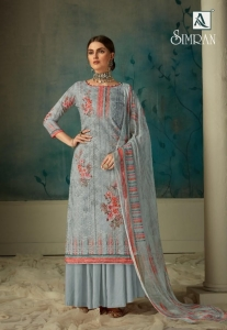 Alok Suit Simran Pure Cotton Digital Print Suit (8 Pcs Set)