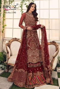 Rinaz Fashion Block Buster Vol 9 Pakistani Suit Catalog (4 Pcs Set)