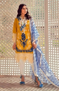 Deepsy Sana Safinaz Muzlin Vol 2 Embroidered Pakistani Suit (8 Pcs Set)