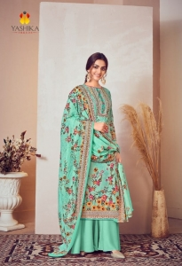 Yashika Zulffat Vol 2 Pure Lawn Suit Collection (10 Pcs Set)