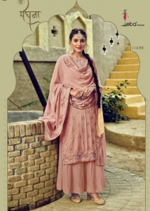 Eba Lifestyle Jassi Nx Fox Georgette Designer Suit (4 Pcs Set)