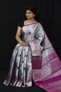 Exclusive Tissue Zari Sarees (12 Pc Set)