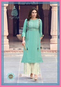 Kajal Style Fashion Lakme Vol-4 Heavy Designer Kurti